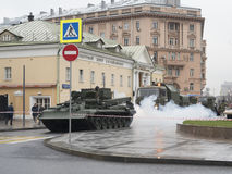 坦克起初 免版税图库摄影