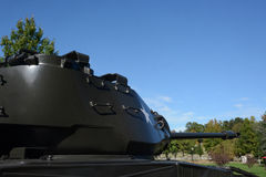 坦克细节 库存图片