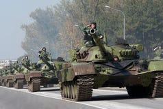 坦克- M 84AB1 免版税库存图片