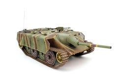 坦克E-10的比例模型 库存照片