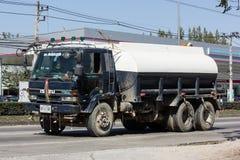 坦克Norst星运输公司水卡车  库存图片