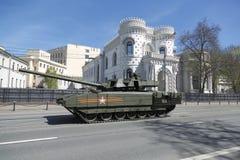 坦克T-14 免版税库存图片
