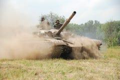 坦克T-72 免版税库存图片