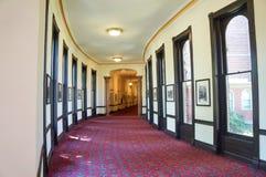 坦帕,佛罗里达大学的植物大厅的内部  免版税库存图片