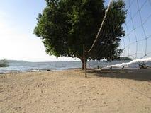 坦桑尼亚乌凯雷丰岛,维多利亚湖 图库摄影