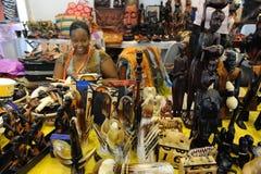 坦桑尼亚工艺 库存照片