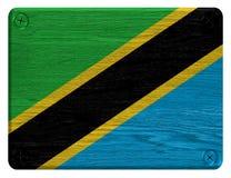 坦桑尼亚旗子 免版税图库摄影