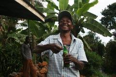 坦桑尼亚的微笑 免版税库存照片