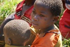 坦桑尼亚非洲61的孩子 免版税图库摄影