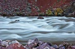 坦纳峡谷急流 免版税图库摄影