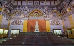坦贾武尔宫殿的Durbar大厅 免版税库存照片