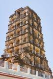 坦贾武尔宫殿钟楼  库存照片