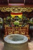 垂悬的国王Temple Phu Tho 库存照片
