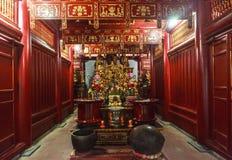垂悬的国王Temple Phu Tho 图库摄影