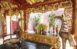 垂悬的国王Temple Phu Tho 免版税图库摄影