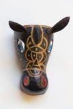 垂悬的手工制造典型的尼加拉瓜的面具 免版税库存照片