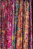 垂悬的衣裳泰国样式 库存照片