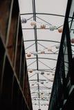 垂悬的轻的lantrens 免版税库存照片