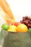 垂直的副食品 库存图片