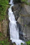 垂直的瀑布 免版税图库摄影