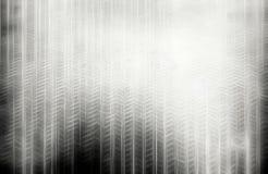 垂直的黑白钢电枢例证 免版税库存图片