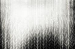 垂直的黑白钢电枢纹理 图库摄影
