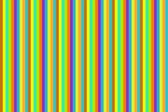 垂直线复发的太阳明亮的淡紫色条纹 免版税库存照片