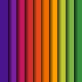 垂直的五颜六色的光谱镶边背景 向量 免版税库存图片