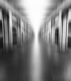 垂直的充满活力的黑白柱子 免版税图库摄影