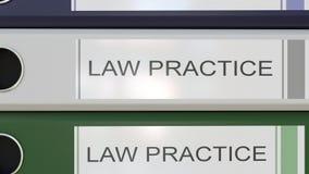 垂直的堆与诉讼手续的多色办公室黏合剂标记 向量例证