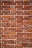 垂直的砖墙纹理 免版税库存照片