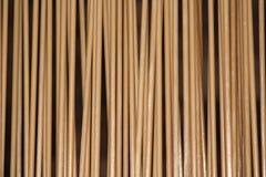 垂直的竹棍子 库存图片