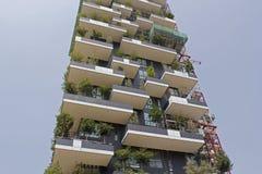 垂直的forrest大厦 免版税图库摄影