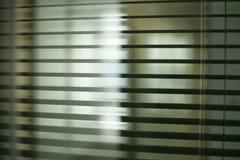 办公室窗帘 免版税库存图片
