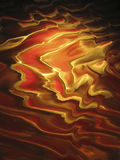 垂直背景行星红色的波纹 免版税库存图片