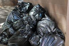 垃圾和垃圾 库存图片