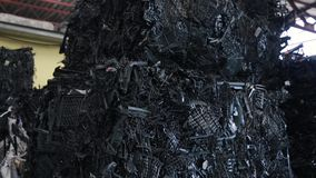 垃圾和废加工设备 股票视频