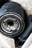 垃圾填埋-尾气油 图库摄影