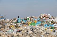 垃圾填埋 免版税库存图片
