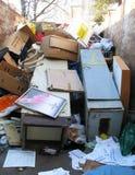 垃圾容器 免版税图库摄影