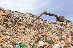 垃圾山  免版税图库摄影