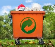垃圾桶 库存图片