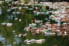 垃圾湖 免版税库存照片