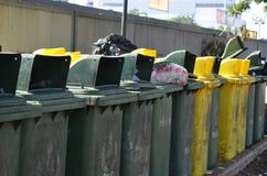 垃圾的容器 免版税库存照片