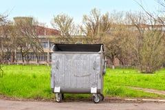 垃圾的容器 图库摄影