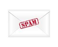 垃圾短信电子邮件 库存照片