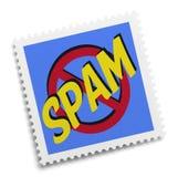 垃圾短信邮票 免版税图库摄影