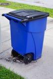 垃圾箱回收 库存照片
