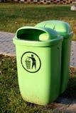 垃圾箱 免版税图库摄影