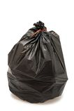 垃圾袋 免版税库存图片